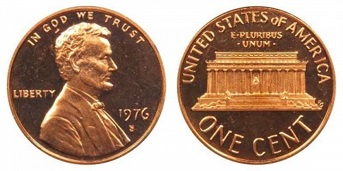 1976s proof penny