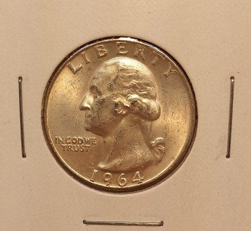 1964-D Washington Quarter MS60