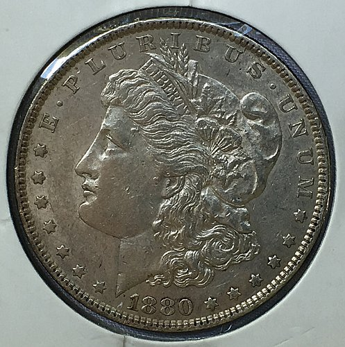 1880 O Morgan Dollar