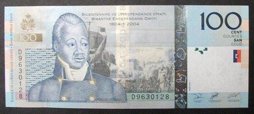 Haiti P275a 100 Gourdes UNC65