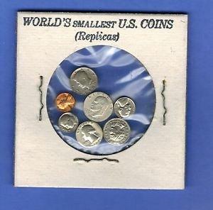 1962 gem penny and a mini set novelty