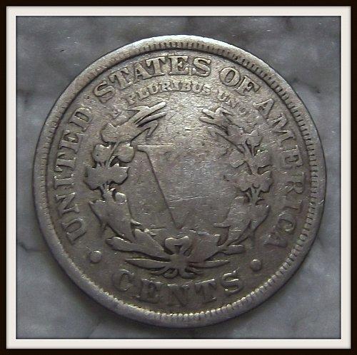 1910 5C Liberty Nickel