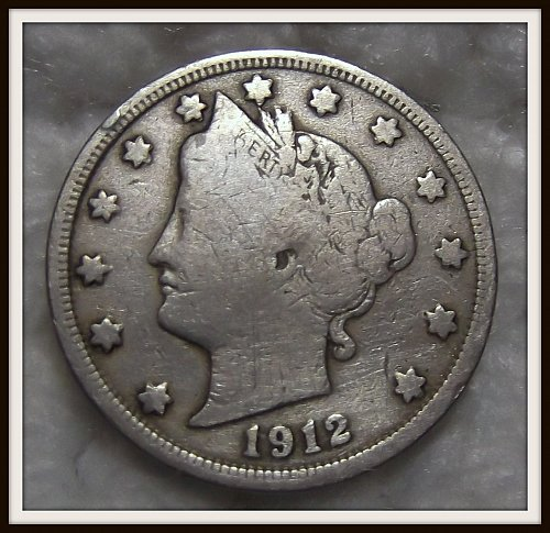 1912 5C Liberty Nickel
