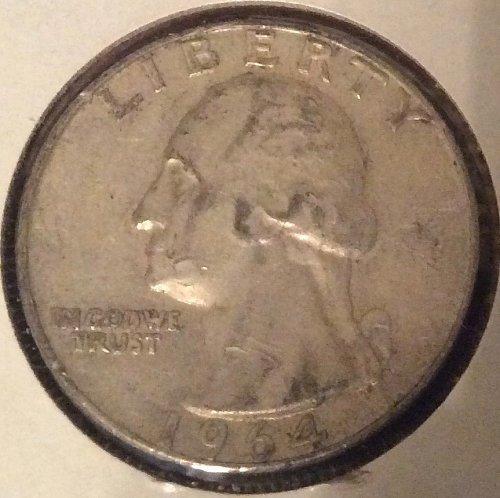 1964 D Washington Quarters