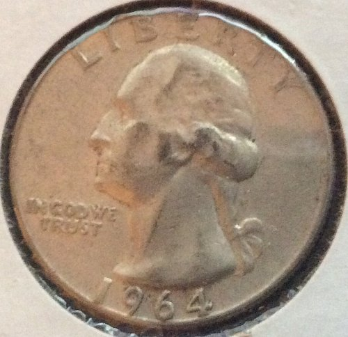 1964 D Washington Quarters