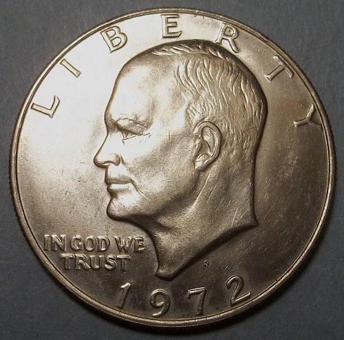 1972d Eisenhower Dollar Lot JEn6aa