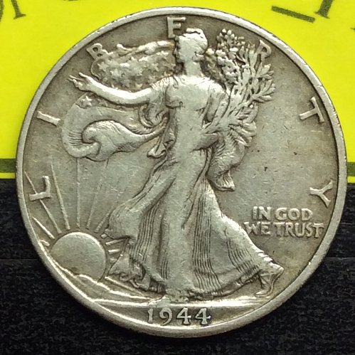 1944-D 50C WALKING LIBERTY HALF DOLLAR