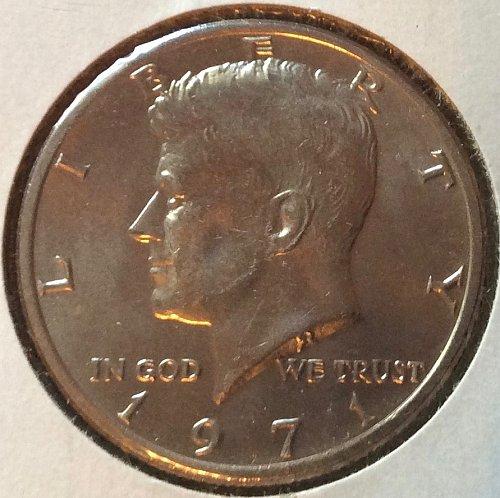 1971 P Kennedy Half Dollars