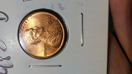 Lot of 25 Uncirculated Copper Lincoln Memorial Pennies