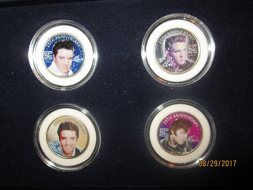Elvis Presley Colorized State Quarters