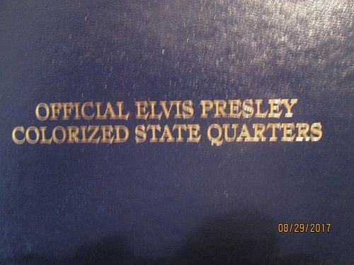 Elvis Presley Colorized State Quarters