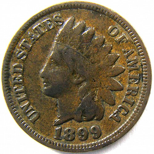 1899 P Indian Head Cent #4
