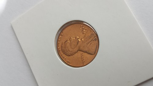 1962 D Lincoln Memorial Penny