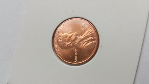 2010 D Shield One Cent Penny
