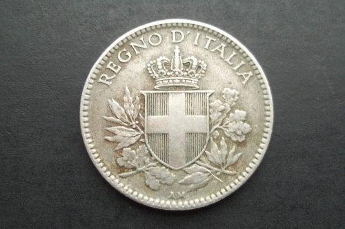 ITALY 1918-R 20 CENTESIMI WORLD COIN