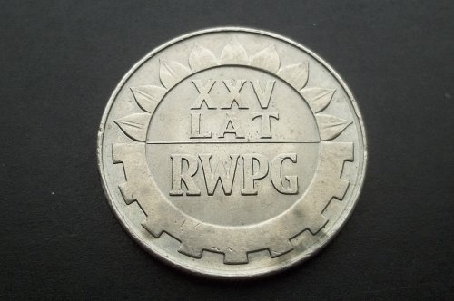 POLAND 1974 20 ZLOTYCH WORLD COIN