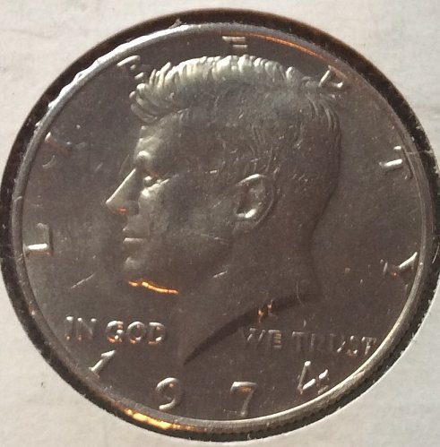 1974 P Kennedy Half Dollars