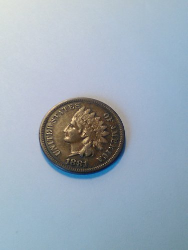 FINE 1881 INDIAN HEAD CENT --- FULL LIBERTY