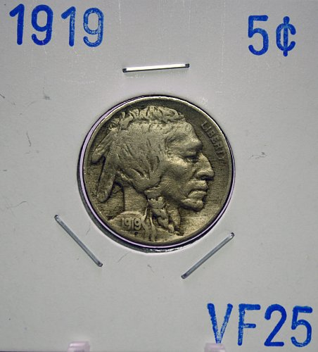 1919 Buffalo Nickel