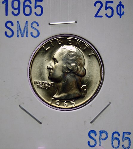 1965 Washington Quarter ***SMS***