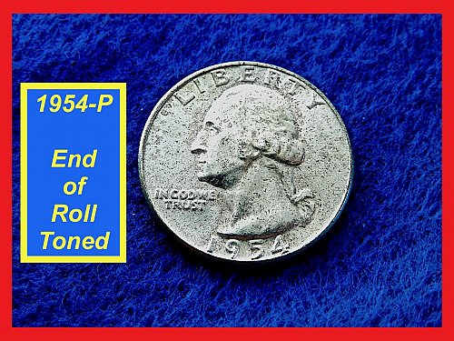 "1954-P Washington Quarters ✬ ""AU-50"" ✬ (#2847)a"