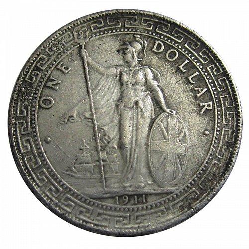 1911 uk trade dollar copy
