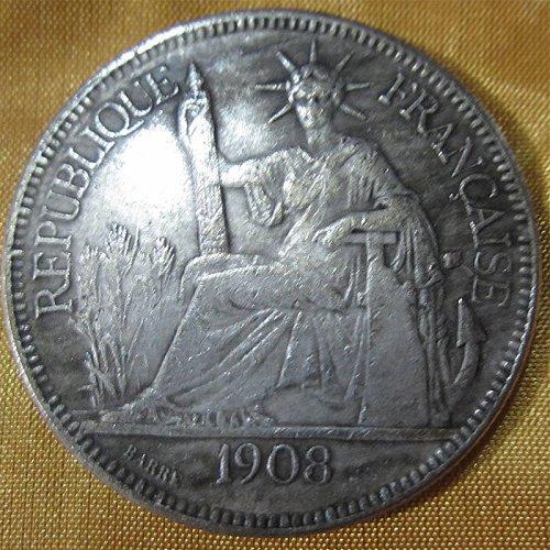 1908 france dollar copy