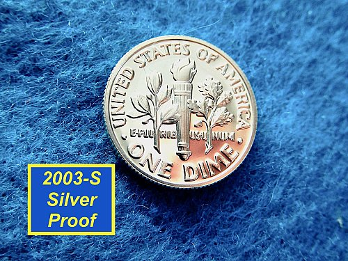 2003-S  RPOOF ☆  90% SILVER ☆  DEEP CAMEO  ☆  (#3737)a