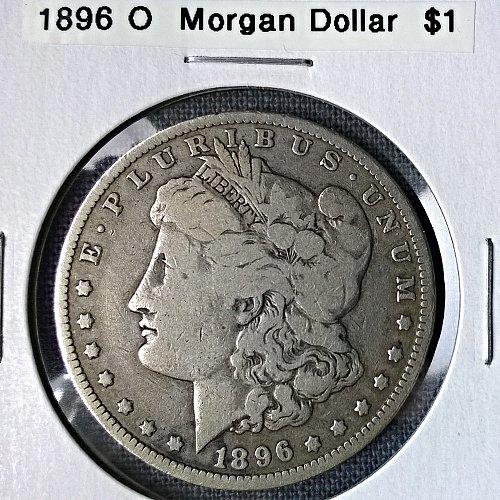 1896 O Morgan Dollar - 8 Photos!