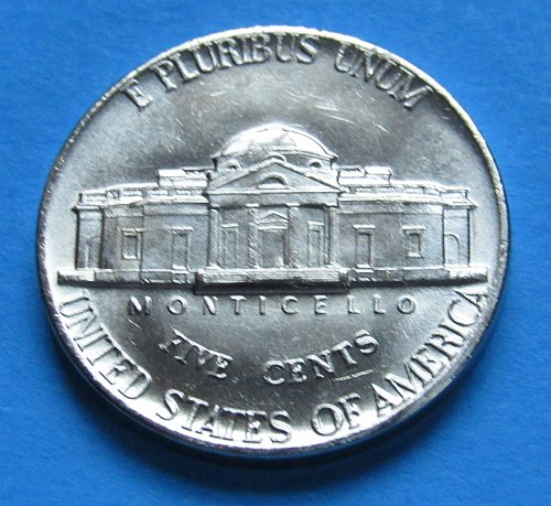 1972 5 Cents - Jefferson Nickel