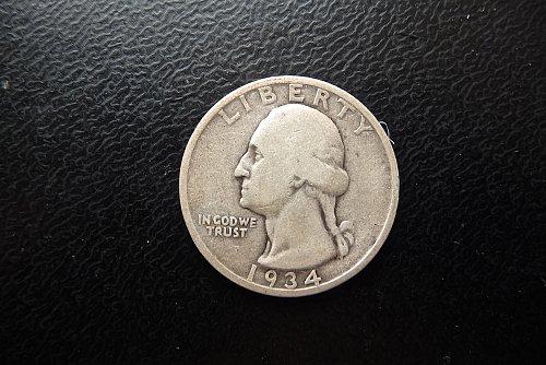 1934-D Washington Quarter