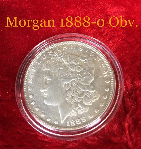 1888-0 Morgan Silver Dollar BU/UNC Details
