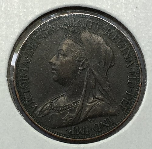 1899 Great Britain Farthing