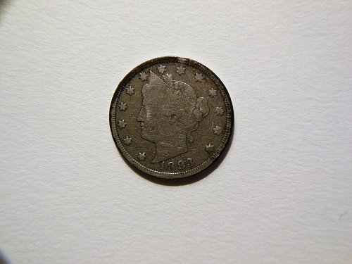 1883 *No Cents* Liberty V Nickel