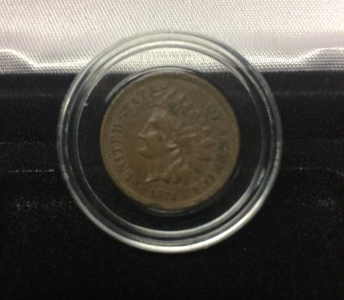 1874 Small Indian Cent Penny. This Coin is getting tougher to find!