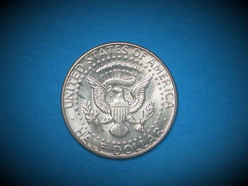 1967 Kennedy Half ** 40% Silver ** Choice BU From An Original Roll ** Great Lust