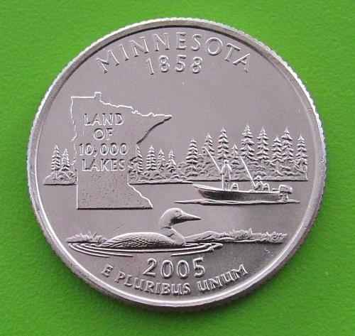 2005-D 25 Cents - Minnesota State Quarter