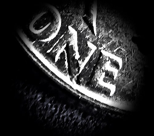 """ERROR"" 1964 Dime ☆ Planchet Error @ ""N"" of 'NONE'  (#3909)a"