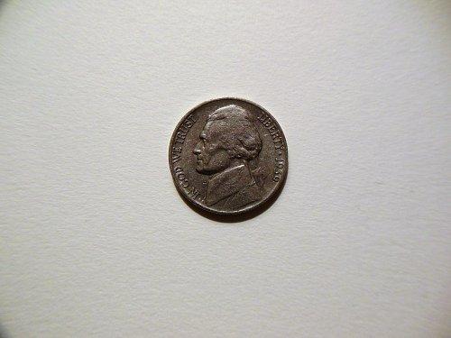 1939-P Jefferson Nickel