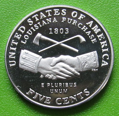 2004-S 5 Cents - Jefferson Nickel - Peace Medal - Deep Cameo Proof