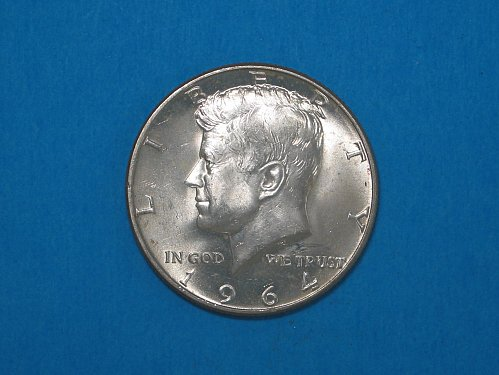 1964-D Kennedy Half ** Choice BU ** 90% Silver ** Great Mint Luster