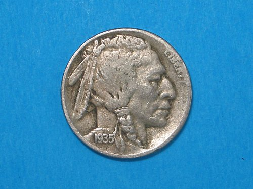 1935-D Buffalo Nickel ** Very Sharp Details