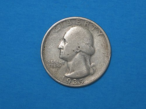 1935 Washington Silver Quarter