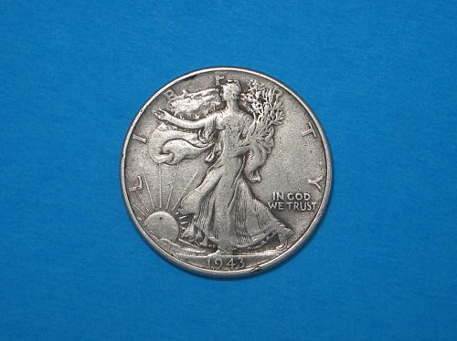 1943 P Walking Liberty Half Dollar