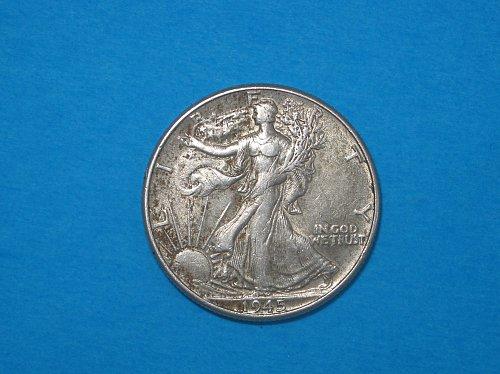 1945 Walking Liberty Half Dollar ** Nice Details
