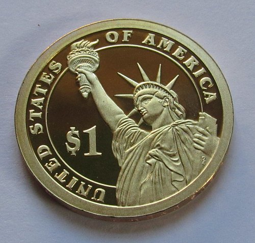 2010-S $1 - James Buchanan Presidential Dollar - Deep Cameo Proof - Position B
