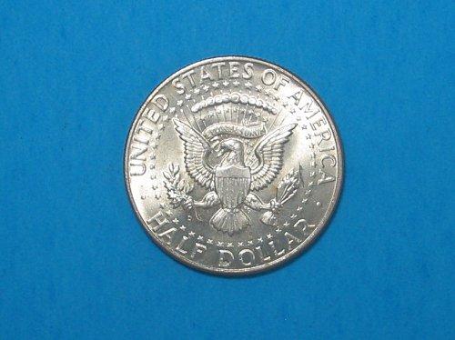 1964-D Kennedy Half ** 90% Silver ** Choice BU From An Original Roll ** Great Lu