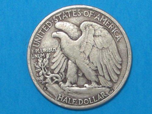 1942-D Walking Liberty Half Dollar