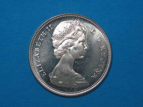 1966 Canadian Silver Dollar ** Brilliant Unc