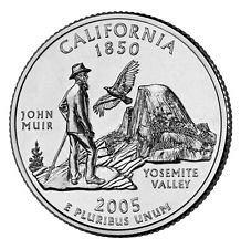 2005  P  CALIFORNIA   STATE QUARTER